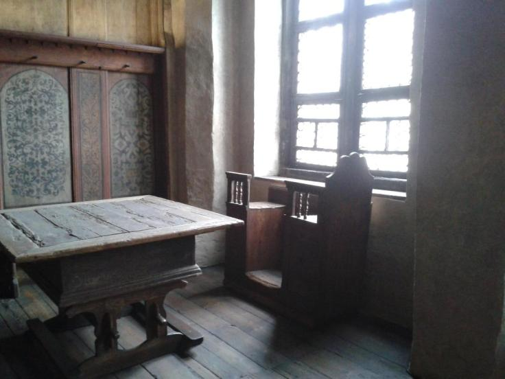 Typical table of the period at Staube Lutherhaus. Credit: Margaret Skea