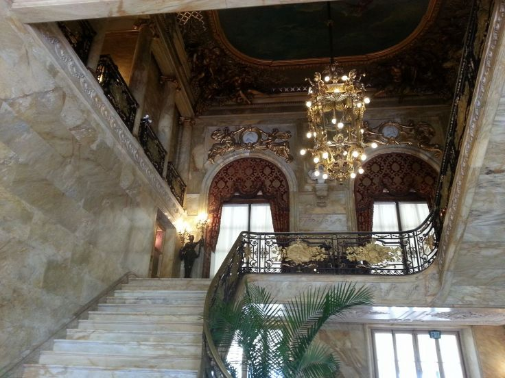 Marble House interior