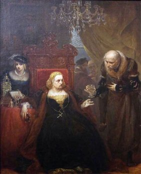 Poisoning of Queen Bona by Jan Matejko
